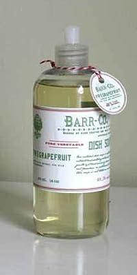 Barr-co. Fir Grapefruit Dish Soap