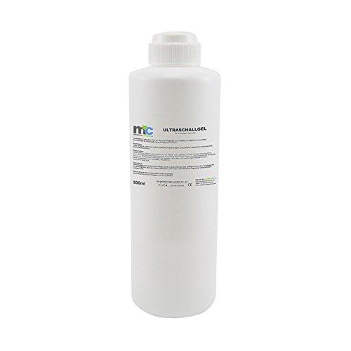Ultraschallgel 500 ml, Sonographie Gel, Leitgel, Kontaktgel, Ultraschall Gel, Übertragungsgel, -