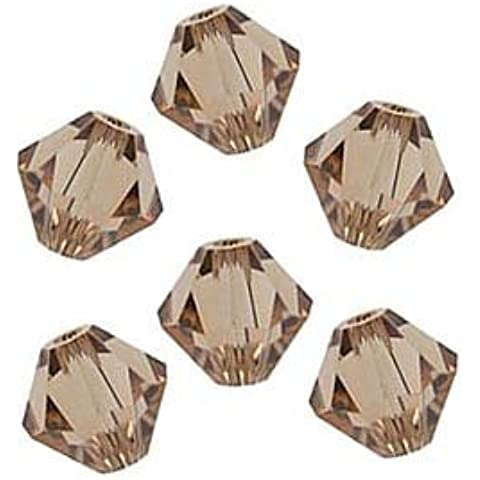 Swarovski Crystal Bicone 5301 4mm Lt. Colorado