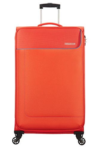 American Tourister Funshine Spinner Valigia 79 Cm, 100 L, Arancione (Mandarina)