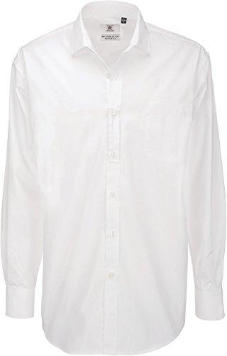 BCSMP41 Poplin Shirt Heritage Long Sleeve White