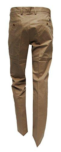 MMUGA -  Pantaloni da abito  - Basic - Uomo Marrone