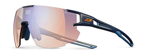 Julbo Aerospeed Sonnenbrille Herren, Dunkelblau/Dunkelblau/Orange
