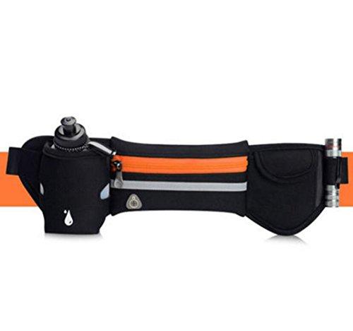 OOFWY Sport Running Kettle Pockets Taille Gürtel Telefon Pack Tasche A