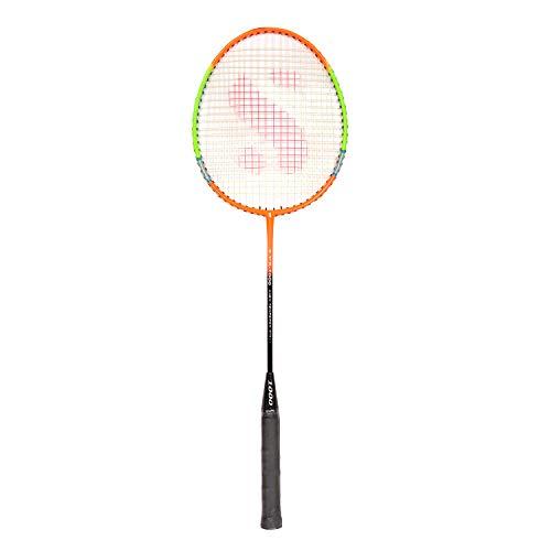 SVR Badmintonschläger, Mehrfarbig, für alle Altersgruppen, Standardgröße, gehärteter Stahl