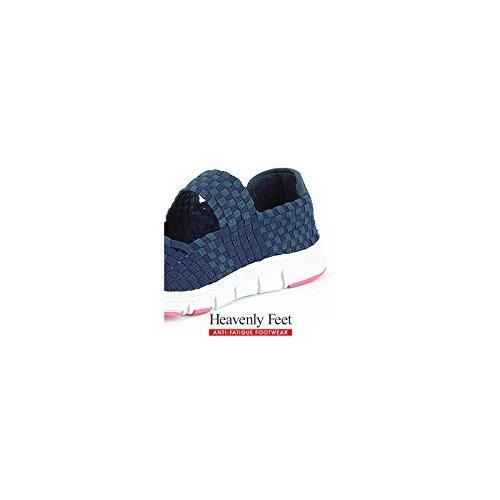 Heavenly Feet Heavenly Feet Mambo Navy Shoes, Stivali donna Navy