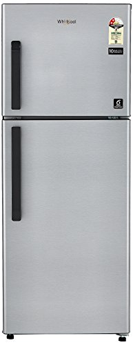 Whirlpool 245L 2 Star Frost Free Double Door Refrigerator (Neo FR258 CLS Plus, Galaxy Steel)