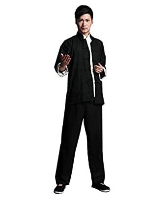 bruce lee kost m chinesischen wing chun kung fu uniform. Black Bedroom Furniture Sets. Home Design Ideas