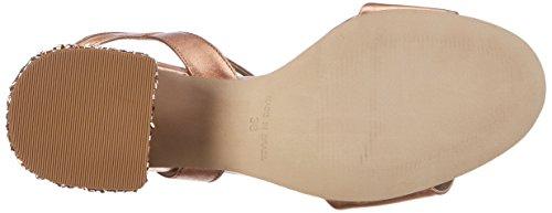 Bronx BX 1254 Bjaggerx, Sandales Compensées Femme Pink (Rosegold)