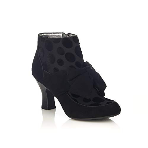 Ruby Shoo Seren Black Womens Hi Ankle Boots