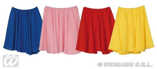 Widmann-WDM3367D Erwachsenenkostüm für Damen, Rot Gelb Blau Pink, WDM3367D