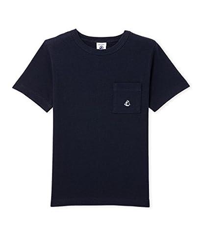 Petit Bateau Boy's T-Shirt, Blue (Smoking), 5 Years