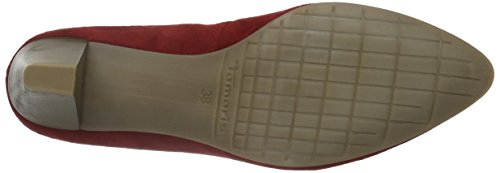Tamaris Damen 22414 Pumps Rot (Chili Suede 590)