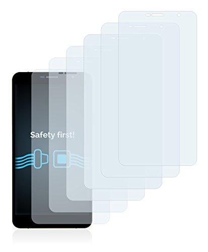 Savvies Schutzfolie für Timmy M7 [6er Pack] - klarer Displayschutz