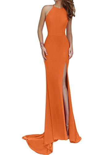 Abendkleider lang orange
