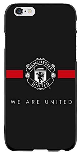 Schutzhülle mit Manchester United F.C.Football Club, kompatibel mit iPhone 6 Plus 6S Plus, iPhone 6 6s Plus, A Classic
