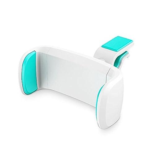 thanly Support universel Rotation à 360° Support voiture Air Vent Mount Support de téléphone à clipser pour iPhone 766S Plus 55S 5C Blackberry Samsung S7S6Edge Plus S5S4S3Note 2345LG