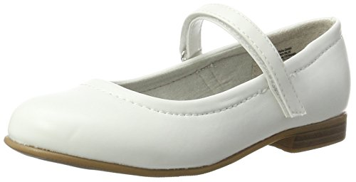 indigo by Clarks 424 079, Ballerines fille Weiß (WHITE)