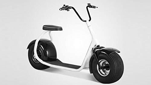 E-Scooter Chopper N1, 2000 Watt E-Motor, 45 km/h, Elektroroller, E-Tretroller, E-Roller, Elektro-Roller, Produktvideo, Weiß