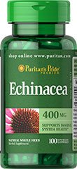 Echinacea 400 mg 100 Capsules
