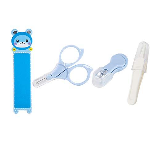 PT-KMKMING 1 Satz Baby Neugeborenen Spezielle Nagelschere Nagelknipser Set Baby Nägel Sicherheitspflege Supplies (Nagelfeilen Bulk)