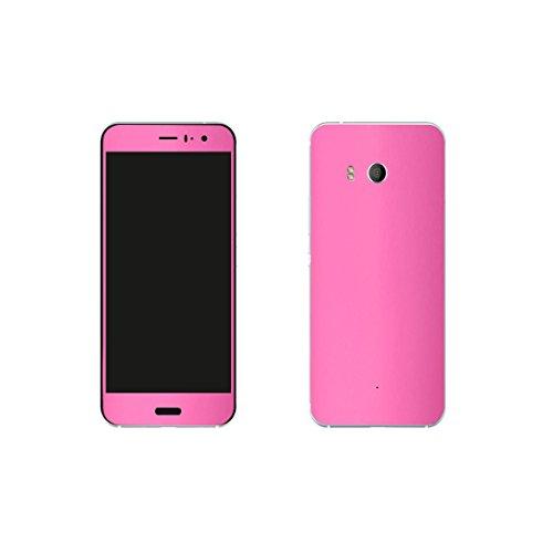 HTC U11 Pink Design Schutzfolie Designfolie Skin Faceplates Schutz Folie (Herstellung in Deutschland) Htc Pink Faceplates