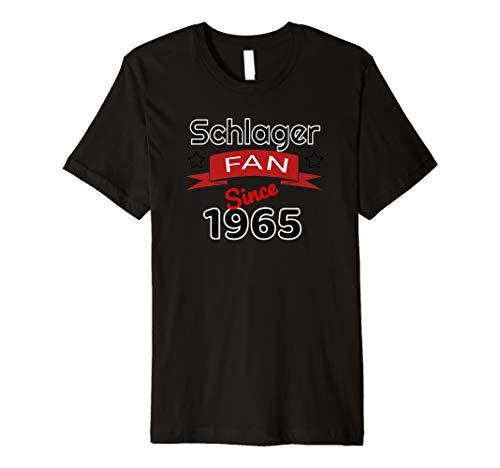 Schlager Fan since 1965 Jahrgangs Shirt