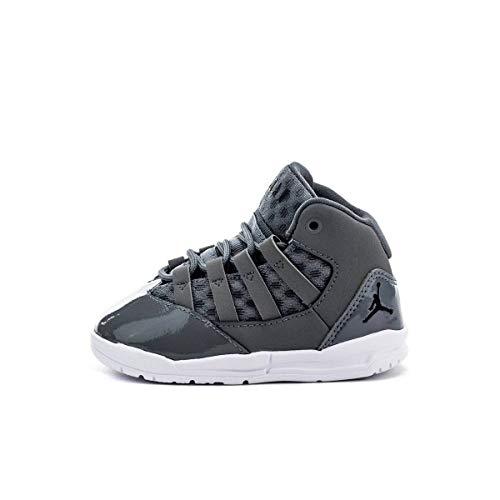Nike Jordan MAX Aura, Zapatillas de Estar por casa Bebé Unisex, Multicolor Cool Grey/Black/White/Clear...
