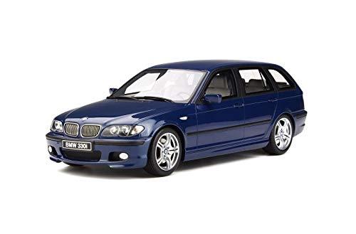 BMW 330 (E46) TOURING M PACK MYSTIC BLUE 1:18 - Ottomobile - Auto Stradali - Die Cast - Modellino