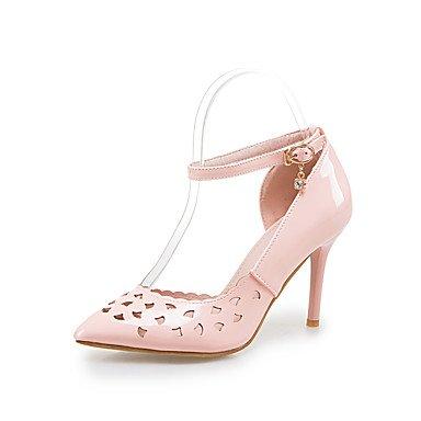 Talloni delle donne Primavera Estate Autunno tacco Altri PU ufficio & carriera di feste ed abito da sera a spillo Altri Blu Rosa Bianco Altro Pink