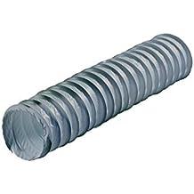 Homewall Tubo extracción Humos/Gases Flexible Plástico Gris ...