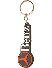 GCT Mercedes Benz Logo Rubber Keychain | Keyring | Key Ring | Key Chain For Your Car Bike Home Office Keys | For...