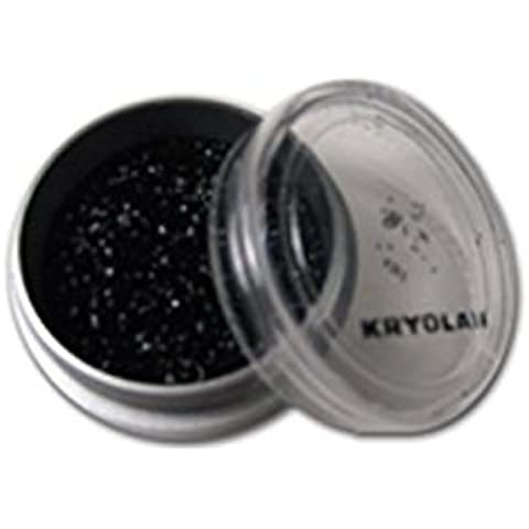 Makeup KRYOLAN BRILLANTINI STARDUST GLITTER NERO bodypainting trucco