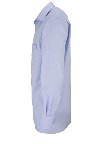 MARVELiS-Hemd 7959-69-11 hellblau extra lang New-Kent Kragen hellblau