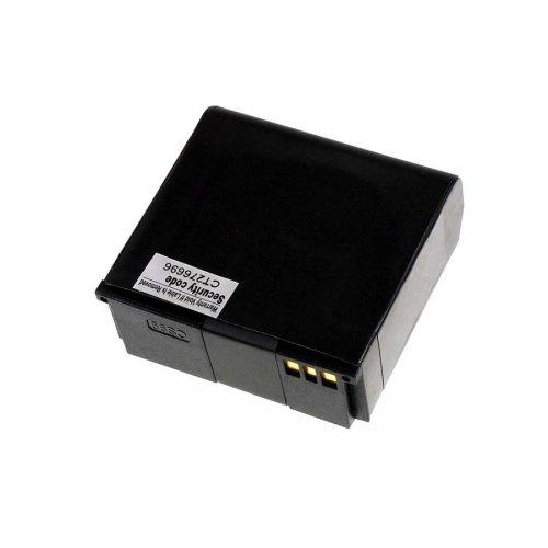 Premium Akku für HTC T7272 2400mAh, Li-Ion, 3,7V