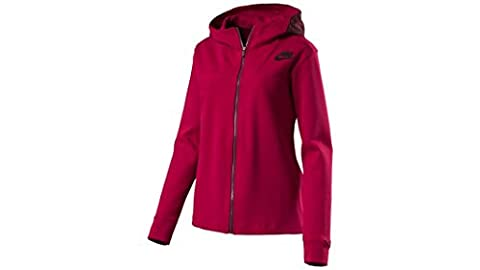 Nike Damen Advance Kapuzen-Jacke, Rot, XL