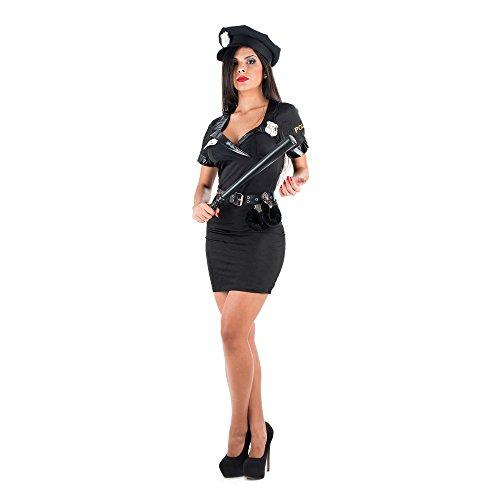 Picaresque - disfraz sexy policia negro
