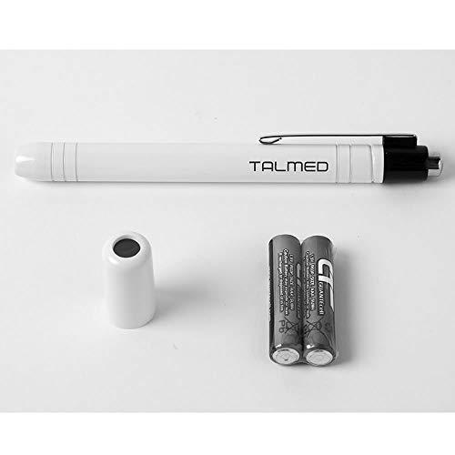 Linterna Medica LED color blanca con filtro azul-Unidad