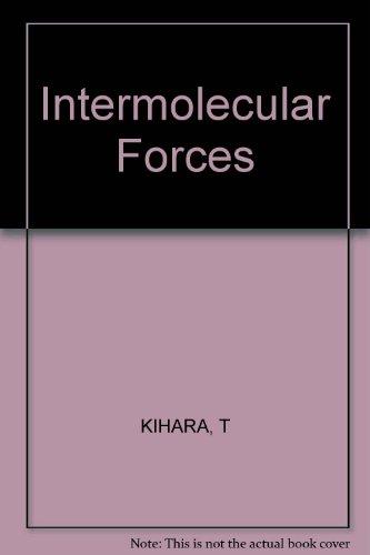 Intermolecular Forces por Taro Kihara