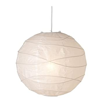 Ikea regolit pendant lamp shade white paper white 45 x 45 x 45 ikea regolit pendant lamp shade white paper white 45 x 45 x 45 cm amazon lighting aloadofball Image collections