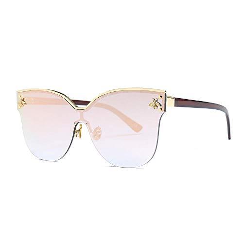 Klassisches Retro-Outdoor-EssentialSonnenbrillen Big Box Sonnenbrillen sind Zubehör Brillen Street Beat Flut Sonnenbrillen-Pink -