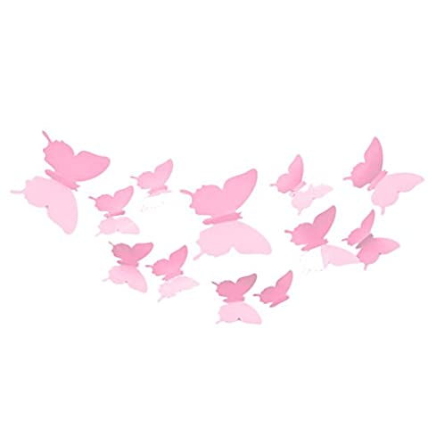 MING 3D Butterfly Removable Wall Stickers Decal for Living Room