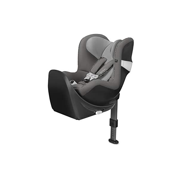 CYBEX Gold Sirona M2 i-Size Car Seat, Incl. Base M, Incl. SensorSafe chest clip, From Birth to approx. 4 years, Up to Max. 105 cm Height, Manhattan Grey  Cybex gold car seat sirona m2 i-size incl. sensorsafe incl. base m Item number: 519001845 Colour: manhattan grey 1