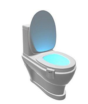 Multicolor LED Sensor Movimiento Activado baño luz y # xFF0 C; Hacer...