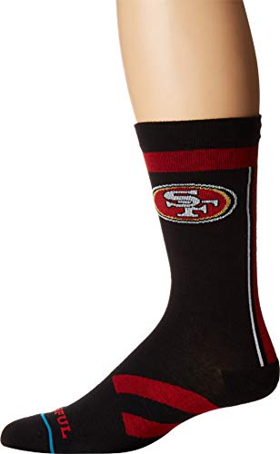 NFL 49ers Faithful Socke - Black Länge: L Farbe: Black