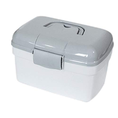 Lxrzls cassetta di pronto soccorso cassetta di medicina portatile scatola di immagazzinaggio di grande capacità scatola di immagazzinaggio portatile a portata di mano scatola leggera portatile da util