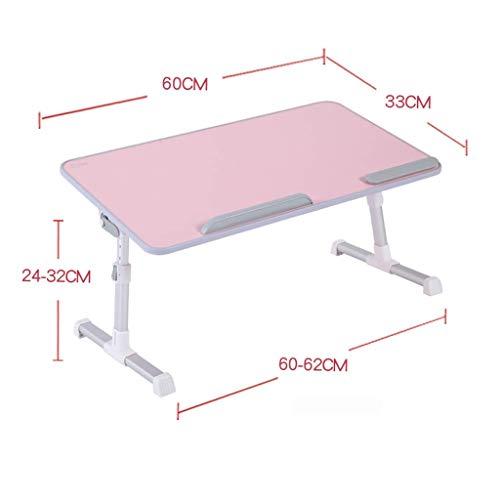 DOKJ Mesa Ordenador Portatil, Mesa Multifuncional Portátil De Altura Regulable Laptop Mesa...
