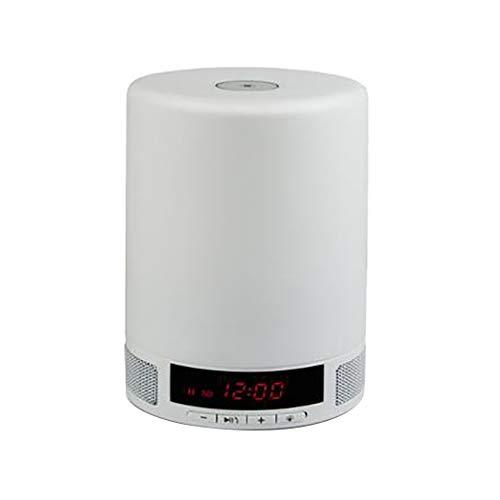 QAR Wecker-Audio-Multifunktions-Bluetooth-Audio-Tischlampe Kreative LED-Musik-Tischlampe Mode Tragbaren Mini Audio