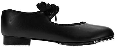 Capezio 925 Negro zapatos de tap bajo a medio talón Fit