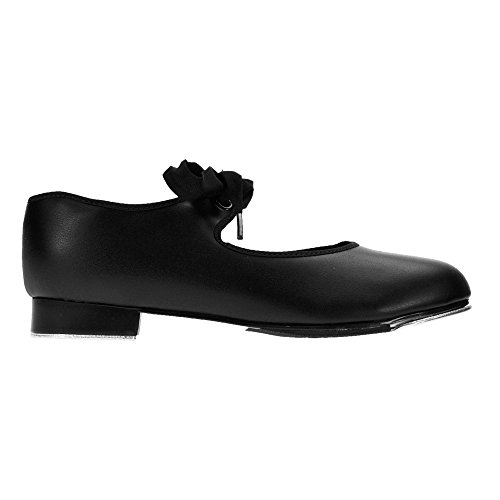 capezio-925-nero-pu-tap-lh-4-uk-6-us